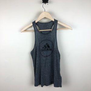 Adidas Gray Logo Tank Top Size Small